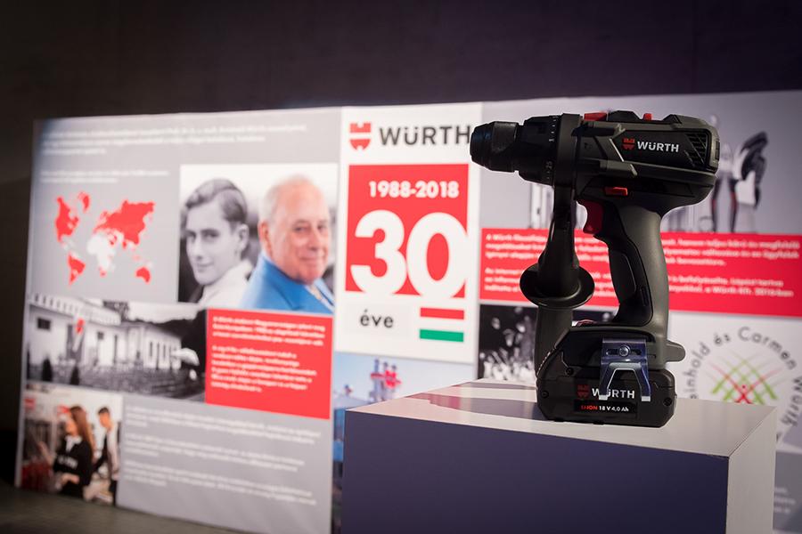 A Würth Szereléstechnika Kft. 30 éves jubileumi gálaestje