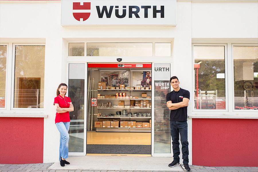 Würth Shop hálózat Magyarországon