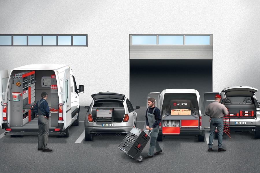 Tippek - miért ésszerű megoldás Önnek a Würth ORSYmobil® Járműberendezés?
