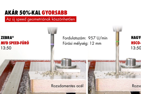Würth Zebra® MFD Speed spirálfúrók