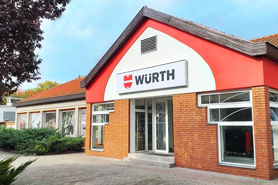 Már az ország 11 pontján – Würth Shophálózat