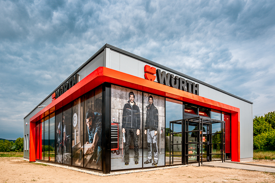 Elegáns és egységes - Würth Shop nyílt Tatabányán
